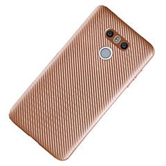 Mert Ultra-vékeny Case Hátlap Case Egyszínű Puha TPU mert LG LG K10 LG K8 LG G6