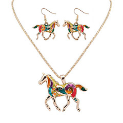 Γυναικεία Σετ Κοσμημάτων Κοσμήματα Μοναδικό Κρεμαστό Ανθεκτικό Χιπ-Χοπ Χειροποίητο κοσμήματα πολυτελείας κοστούμι κοστουμιών Animal Shape