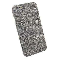 Для Защита от удара Кейс для Задняя крышка Кейс для Полосы / волосы Твердый Текстиль для AppleiPhone 7 Plus iPhone 7 iPhone 6s Plus