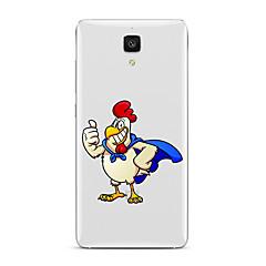 billige Etuier til Xiaomi-For Transparent Mønster Etui Bagcover Etui Tegneserie Blødt TPU for XiaomiXiaomi Mi 5 Xiaomi Mi 4 Xiaomi Mi 5s Xiaomi Mi 5s Plus Xiaomi