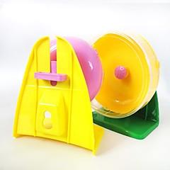 العجلات التمرين محمول متعددة الوظائف الكوسبلاي بلاستيك أصفر فوشيا أخضر أزرق