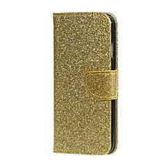Для Бумажник для карт Кошелек со стендом Флип Кейс для Чехол Кейс для Сияние и блеск Твердый Искусственная кожа для HuaweiHuawei P9 Lite