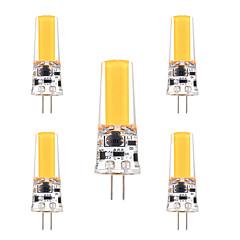 cheap LED Bulbs-YWXLight® 3W G4 LED Bi-pin Lights 1 leds COB Dimmable Decorative Warm White Cold White 200-300lm AC 12 DC 12-24V