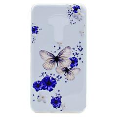 For Asus ZenFone 3 (ZE552KL)(5.5) ZE520KL(5.2) Butterfly Pattern Soft TPU Material Phone Case