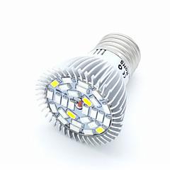 10W E27 LED-drivhuslamper PAR20 28 SMD 5730 850 lm Varm hvit Kjølig hvit Rød Blå Dekorativ V 1 stk.