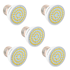 cheap LED Bulbs-YWXLight® 5W GU10 GU5.3(MR16) E26/E27 LED Spotlight 54 SMD 2835 400-500 lm Warm White Cold White Natural White DC 5V