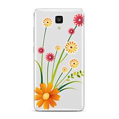 billige Etuier til Xiaomi-For Transparent Mønster Etui Bagcover Etui Blomst Blødt TPU for XiaomiXiaomi Mi 5 Xiaomi Mi 4 Xiaomi Mi 5s Xiaomi Mi 5s Plus Xiaomi Mi 3