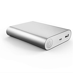 cheap -Aluminum Alloy Matte 10000mA Bidirectional QC2.0 Fast Charging Automatic Regulating Current Over-current Protection Mobile Power Bank