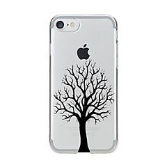 Для Прозрачный С узором Кейс для Задняя крышка Кейс для дерево Мягкий TPU для AppleiPhone 7 Plus iPhone 7 iPhone 6s Plus iPhone 6 Plus