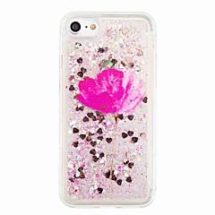 Na Z płynem Wzór Kılıf Etui na tył Kılıf Brokat Kwiat Miękkie TPU na AppleiPhone 7 Plus iPhone 7 iPhone 6s Plus iPhone 6 Plus iPhone 6s