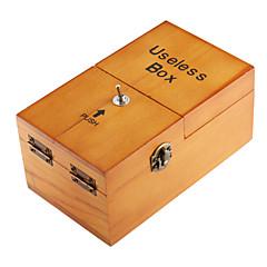 abordables Artículos Para la Fiesta de Halloween-juguete caja de la máquina neje madera inútil totalmente montado con logotipo