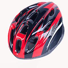 男女兼用 バイク ヘルメット 18 通気孔 サイクリング サイクリング マウンテンサイクリング ロードバイク レクリエーションサイクリング ワンサイズ EPS ポリ塩化ビニル ホワイト レッド ピンク ブルー オレンジ