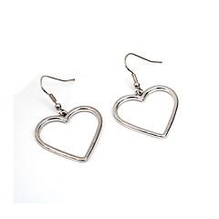 preiswerte Ohrringe-Damen Tropfen-Ohrringe - Herz, Liebe Grundlegend Gold / Silber Für Party / Alltag / Normal