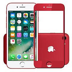 Недорогие Защитные пленки для iPhone 7-Защитная плёнка для экрана Apple для iPhone 7 Закаленное стекло 1 ед. Защитная пленка на всё устройство Ультратонкий Уровень защиты 9H HD