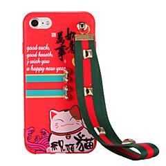 Для С узором Своими руками Кейс для Задняя крышка Кейс для Кот Мягкий TPU для AppleiPhone 7 Plus iPhone 7 iPhone 6s Plus iPhone 6 Plus