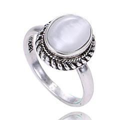 preiswerte Ringe-Damen Ring - Opal Personalisiert, Simple Style, Modisch 6 / 7 / 8 Gold / Silber Für Geburtstag / Herzliche Glückwünsche / Abschluss