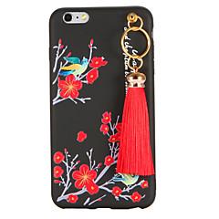 Для С узором Своими руками Кейс для Задняя крышка Кейс для Цветы Мягкий TPU для AppleiPhone 7 Plus iPhone 7 iPhone 6s Plus iPhone 6 Plus