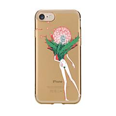 Для Прозрачный С узором Кейс для Задняя крышка Кейс для Одуванчик Мягкий TPU для AppleiPhone 7 Plus iPhone 7 iPhone 6s Plus iPhone 6 Plus
