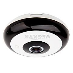 veskys® 360도 HD 전체보기 IP 네트워크 보안 와이파이 카메라 1.3MP 어안