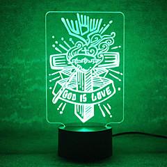 お買い得  LED アイデアライト-ナイトライト LEDナイトライト USBライト-0.5W