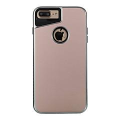 Для Покрытие Матовое Кейс для Задняя крышка Кейс для Один цвет Твердый Металл для AppleiPhone 7 Plus iPhone 7 iPhone 6s Plus iPhone 6