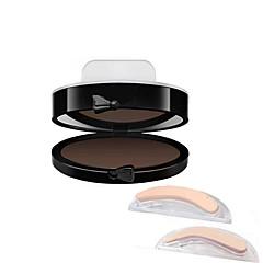저렴한 -아이브로우 가루 건조 방수 천연 블랙 페이드 회색 그라데이션 베이지 멀티색상 누드 눈