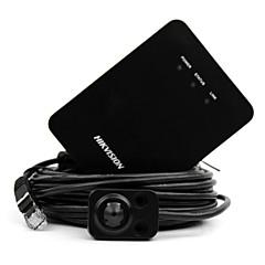 abordables Cámaras IP-hikvision® ds-2cd6424fwd-20 cámara ip de 3.7mm 2mp wdr (cable de 8m 128gb de audio y día / noche io 120db wdr 3d dnr h.264 codec poe roi)