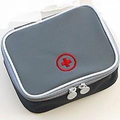 صندوق الدواء للسفر المحمول تخزين السفر إلى المحمول تخزين السفر أصفر أحمر أخضر أزرق زهري