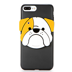 For IMD Mirror DIY Case Back Cover Case Dog Soft TPU for Apple iPhone 7 Plus iPhone 7 iPhone 6s Plus iPhone 6 Plus iPhone 6s iPhone 6
