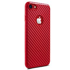 Назначение iPhone X iPhone 8 Чехлы панели Защита от удара Задняя крышка Кейс для Сплошной цвет Мягкий Силикон для Apple iPhone X iPhone 8