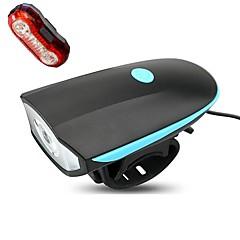 Kerékpár világítás Kerékpár első lámpa Kerékpár hátsó lámpa LED Kerékpározás Tompítható Vízálló Újratölthető Könnyű Lítium akkumulátor 250