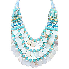 Women's Statement Necklaces Jewelry Jewelry Synthetic Gemstones Rhinestone Alloy Fashion Personalized Euramerican Jewelry For Party