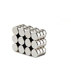 お買い得  アクセサリー-8×3ミリメートル円形シリンダーマグネット深いDIYは、冷蔵庫ドアホワイトボード磁気マップ磁気スクリーンドア掲示板冷蔵庫のためのパーソナライズされた複数の使用