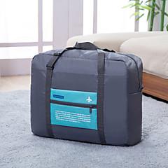 حقيبة السفر منظم أغراض السفر مقاوم للماء المحمول قابلة للطى سعة كبيرة تخزين السفر إلى ملابس البوليستر نايلون /