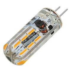 G4 Luci LED Bi-pin T 24 leds SMD 3014 Bianco caldo Luce fredda 200-300lm 3000/6500K DC 12V