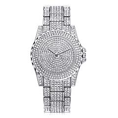 Χαμηλού Κόστους Γυναικεία ρολόγια-Γυναικεία Χαλαζίας Ρολόι Καρπού Κινέζικα Απίθανο Ανοξείδωτο Ατσάλι Μπάντα Καθημερινό / Μοντέρνα Ασημί / Χρυσό