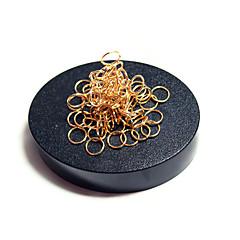 مجموعة اصنع بنفسك ألعاب المغناطيس ألعاب تربوية تركيب معدني مخفف الضغط 2 قطع ألعاب مغناطيس دائري هدية