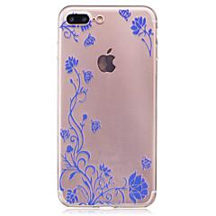 Для imd прозрачный корпус задняя крышка корпуса ротанг цветок soft tpu для iphone 7 plus 7 6s plus 6 plus 6s 6 se 5s 5
