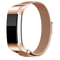 Недорогие Смарт-часы Аксессуары-Ремешок для часов для Fitbit Charge 2 Fitbit Спортивный ремешок Нержавеющая сталь Повязка на запястье
