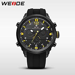 preiswerte Tolle Angebote auf Uhren-WEIDE Herrn Digitaluhr / Armbanduhr / Militäruhr Japanisch Alarm / Kalender / Wasserdicht Caucho Band Luxus / Freizeit / Modisch Schwarz