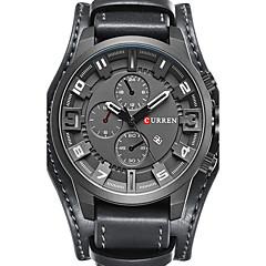 CURREN Męskie Do sukni/garnituru Modny Zegarek na nadgarstek Zegarek na bransoletce Unikalne Kreatywne Watch Na codzień Sportowy Wojskowy