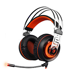 sades A7 7.1 surround sound stereo gaming headset med USB LED mikrofon og vibrationer hovedtelefon til pc