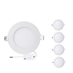tanie Oświetlenie wewnętrzne-4W 400lm 20 Diody LED Łatwa instalacja Wpuszczone Oświetlenie panelowe Ciepła biel Zimna biel AC 85-265V