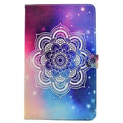 billige Galaxy Tab 4 10.1 Etuier-Til Samsung Galaxy Tab t580 t530 pu læder materiale star mandala mønster malet fladt beskyttelsescover t550 t560 t280 t350