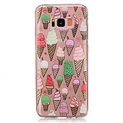 voordelige Galaxy S4 Mini Hoesjes / covers-hoesje Voor Samsung Galaxy S8 Plus S8 IMD Transparant Patroon Achterkant Voedsel Zacht TPU voor S8 Plus S8 S5 Mini S4 Mini