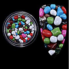 1db palackos az új színes kő részecskék kő