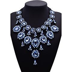 preiswerte Halsketten-Damen Anhängerketten Statement Ketten - Modisch, Euramerican Gold, Hellblau Modische Halsketten Für Party, Geschenk