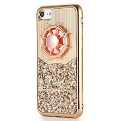 Til Apple iPhone 7 7plus Case Cover Fidget Spinner Mønster DIY Bag Cover Case Glitter Shine Soft TPU 6s plus 6 plus 6s 6