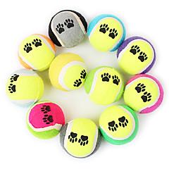 Zabawka dla psa Zabawki dla zwierząt Owalne Zabawki do żucia Piłka tenisowa Dla zwierząt domowych