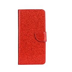 voordelige Hoesjes / covers voor Sony-Voor Hoesje cover Portemonnee Kaarthouder met standaard Flip Patroon Volledige behuizing hoesje Glitterglans Hard PU-leer voor SonySony